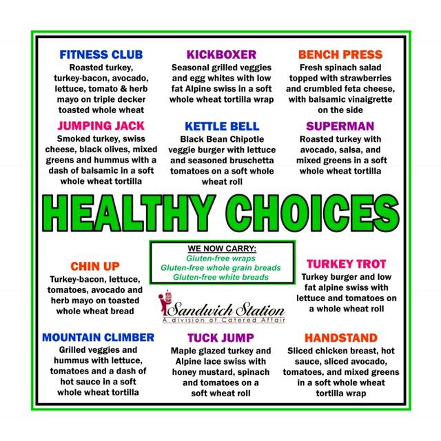 Healthy Choices Bulletin Board 2